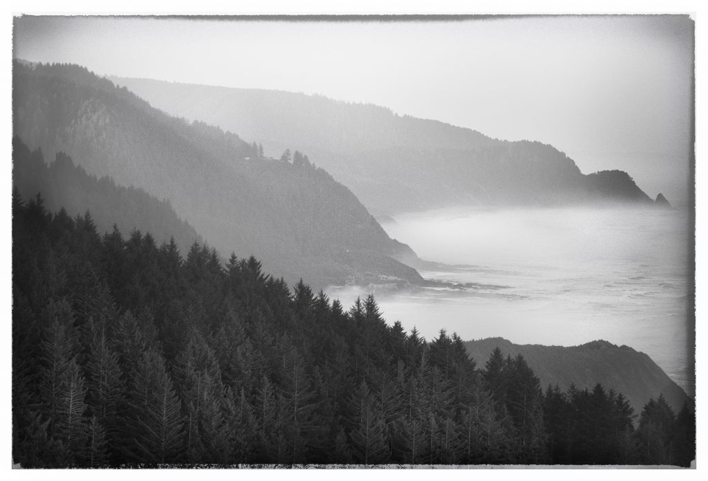 Cape perpetua morning haze